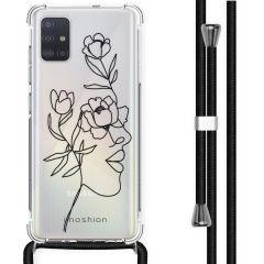 iMoshion Design Hülle mit Band Samsung Galaxy A51