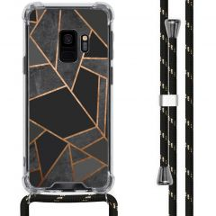 iMoshion Design Hülle mit Band Samsung Galaxy S9 - Grafik-Kupfer