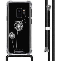 iMoshion Design Hülle mit Band Samsung Galaxy S9 - Pusteblume - Weiß