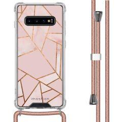 iMoshion Design Hülle mit Band Samsung Galaxy S10 Plus