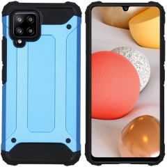 iMoshion Rugged Xtreme Case Samsung Galaxy A42 - Hellblau