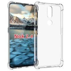 iMoshion Shockproof Case für das Nokia 2.4 - Transparent