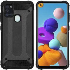 iMoshion Rugged Xtreme Case Schwarz Samsung Galaxy A21s