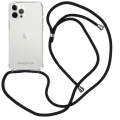 iMoshion Backcover mit Band iPhone 12 Pro Max - Schwarz