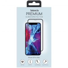 Selencia Screen Protector aus gehärtetem Glas iPhone 12 Pro Max