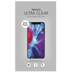 Selencia Duo Pack Screenprotector für das iPhone 12 Pro Max