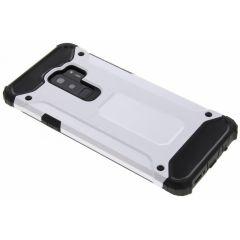 Silberfarbenes Rugged Xtreme Case das Samsung Galaxy S9 Plus