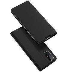 Dux Ducis Slim TPU Booklet für das Samsung Galaxy M31s - Schwarz