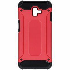 Rugged Xtreme Case Rot für das Samsung Galaxy J6 Plus