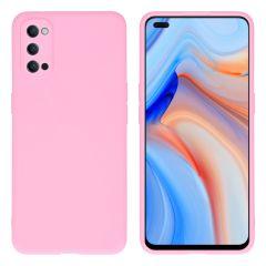 iMoshion Color TPU Hülle für das Oppo Reno4 5G - Rosa