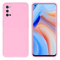 iMoshion Color TPU Hülle für das Oppo Reno4 Pro 5G - Rosa