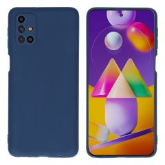 iMoshion Color TPU Hülle für das Samsung Galaxy M31s - Dunkelblau