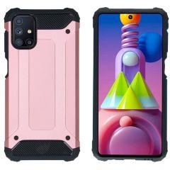 iMoshion Rugged Xtreme Case Samsung Galaxy M51 - Roségold