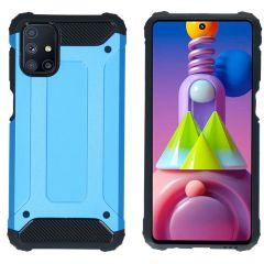 iMoshion Rugged Xtreme Case Samsung Galaxy M51 - Hellblau