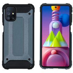 iMoshion Rugged Xtreme Case Samsung Galaxy M51 - Dunkelblau