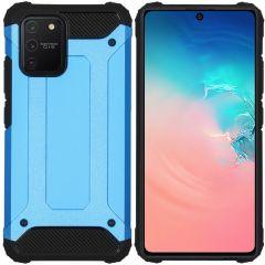 iMoshion Rugged Xtreme Case Hellblau Samsung Galaxy S10 Lite