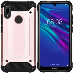 iMoshion Rugged Xtreme Case Roségold für das Huawei Y6 (2019)