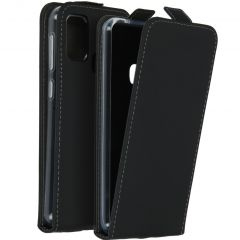 Accezz Flip Case für das Samsung Galaxy M31 - Schwarz