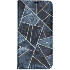 Design TPU Bookcase für das Samsung Galaxy A10