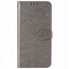 Mandala Booktype-Hülle Grau Samsung Galaxy S10 Lite