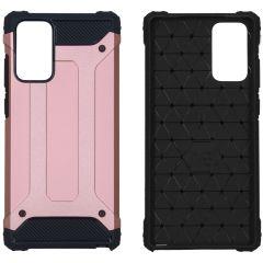 iMoshion Rugged Xtreme Case Samsung Galaxy Note 20 - Roségold