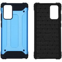 iMoshion Rugged Xtreme Case Samsung Galaxy Note 20 - Hellblau