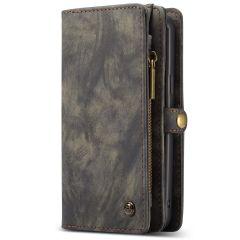 CaseMe Luxuriöse 2-in-1-Portemonnaie-Hülle Leder für das Galaxy S9