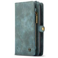 CaseMe Luxuriöse 2-in-1-Portemonnaie-Hülle Leder für Galaxy S9 Plus