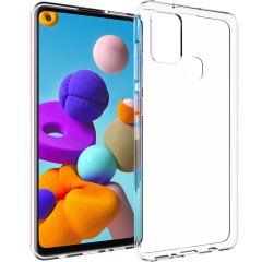 Accezz TPU Clear Cover Transparent für das Samsung Galaxy A21s