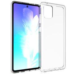 Accezz TPU Clear Cover Transparent für Samsung Galaxy Note 10 Lite
