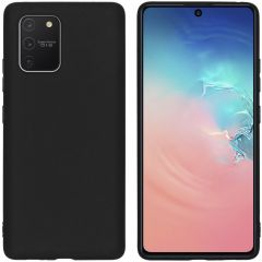 iMoshion Color TPU Hülle Schwarz für das Samsung Galaxy S10 Lite