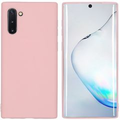 iMoshion Color TPU Hülle Rosa für Samsung Galaxy Note 10