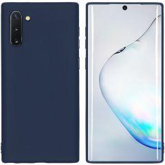 iMoshion Color TPU Hülle Dunkelblau für Samsung Galaxy Note 10