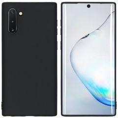iMoshion Color TPU Hülle Schwarz für Samsung Galaxy Note 10