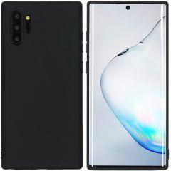 iMoshion Color TPU Hülle Schwarz für Samsung Galaxy Note 10 Plus