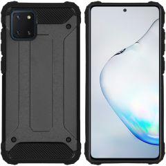 iMoshion Rugged Xtreme Case Schwarz Samsung Galaxy Note 10 Lite