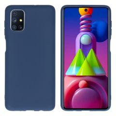 iMoshion Color TPU Hülle für das Samsung Galaxy M51 - Dunkelblau