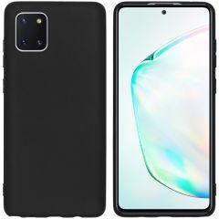 iMoshion Color TPU Hülle Schwarz für das Samsung Galaxy Note 10 Lite