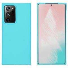 iMoshion Color TPU Hülle Samsung Galaxy Note 20 Ultra - Türkis