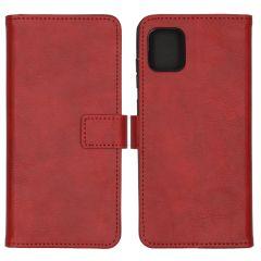iMoshion Luxuriöse Buchtyp-Hülle Rot Samsung Galaxy Note 10 Lite