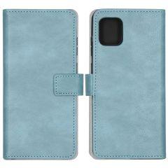 iMoshion Luxuriöse Buchtyp-Hülle Hellblau Samsung Galaxy Note 10 Lite