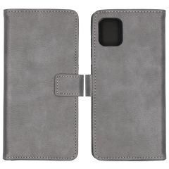 iMoshion Luxuriöse Buchtyp-Hülle Grau Samsung Galaxy Note 10 Lite