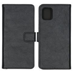 iMoshion Luxuriöse Buchtyp-Hülle Schwarz Samsung Galaxy Note 10 Lite