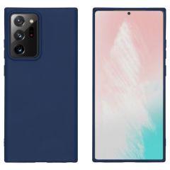 iMoshion Color TPU Hülle Samsung Galaxy Note 20 Ultra - Dunkelblau