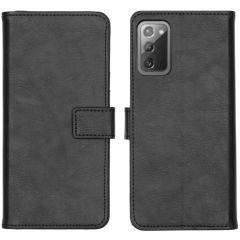 iMoshion Luxuriöse Buchtyp-Hülle Galaxy Note 20 - Schwarz