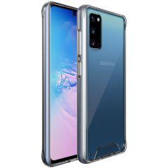 Accezz Xtreme Impact Case Transparent für das Samsung Galaxy S20