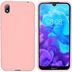 iMoshion Color TPU Hülle Rosa für das Huawei Y5 (2019)