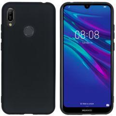 iMoshion Color TPU Hülle Schwarz für Huawei Y6 (2019)