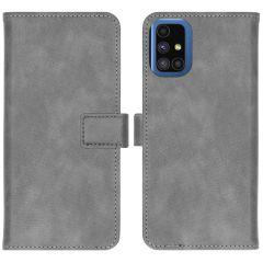 iMoshion Luxuriöse Buchtyp-Hülle Samsung Galaxy M51 - Grau