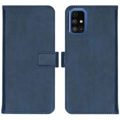 iMoshion Luxuriöse Buchtyp-Hülle Samsung Galaxy M51 - Dunkelblau